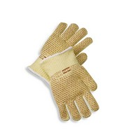 Honeywell 52/7457 North X-Large Grip N 7 Gauge Kevlar Blended Hot Mill Glove With Nitrile Coating On Both Sides And Wide Cuffs