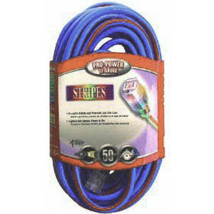 Coleman Cable 02548-64 12/3 50' Outdoor Extension Cord