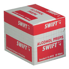 First Aid Antiseptic Wipes - - Swift First Aid 154818 70