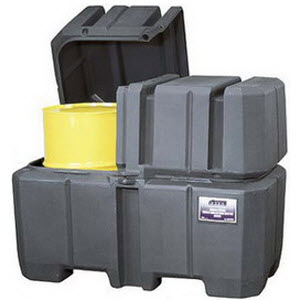Spill Control and Storage, Spill Control Pallets, Drum Accumulation Centers, Drum Accumulation Ramps