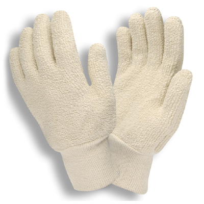 Cordova 3218 18 oz. Loop-Out Terrycloth Gloves: Knit Wrists
