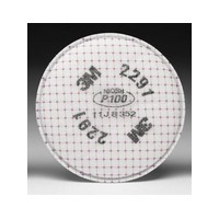 3M 2291 3M P100 Advanced Particulate Filter For 5000 , 6000 And 7000 Series Air Purifying Respirator (2 Per Bag, 50 Bags Per Cas