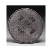 3M 2297 3M P100 Advanced Particulate Filter With Nuisance Level Organic Vapor Protection For 5000 , 6000 And 7000 Series Air Pur