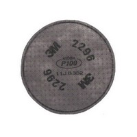 3M 2296 3M P100 Advanced Particulate Filter With Nuisance Level Acid Gas Protection For 5000 , 6000 And 7000 Series Air Purifyin