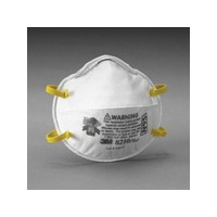 3M 8210PLUS 3M 8210Plus N95 Particulate Disposable Respirator - NIOSH 42CFR84 (20 Each Per Box)