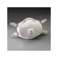 3M 8293 3M 8293 P100 Particulate Disposable Respirator With Cool Flow Exhalation Valve And Face Seal - NIOSH 42CFR84