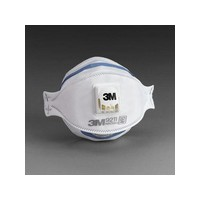 3M 9211 3M 9211 N95 Particulate Disposable Respirator With Cool Flow Exhalation Valve - NIOSH 42CFR84 (10 Each Per Box)