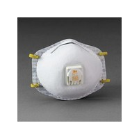 3M 8211 3M 8211 N95 Particulate Disposable Respirator With Cool Flow Exhalation Valve, Face Seal And M-Noseclip - NIOSH 42CFR84