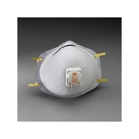 3M 8516 3M 8516 N95 Nuisance Acid Gas Disposable Respirator With Cool Flow Exhalation Valve And M-Noseclip - NIOSH 42CFR84 (10 E