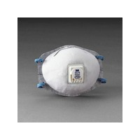 3M 8576 3M 8576 P95 Particulate Disposable Respirator With Cool Flow Exhalation Valve And M-Noseclip - NIOSH 42CFR84 (10 Each Pe