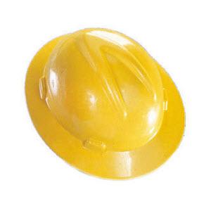 781efc93 Hard Hats - - MSA 475366 V-Gard Yellow HDPE Fas-Trac 4-Point ...