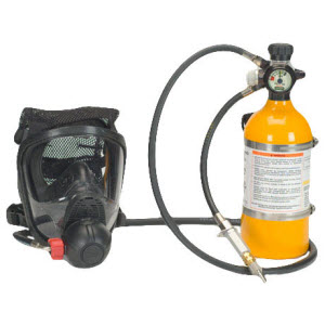Powered And Supplied Air Breathing Apparatus Scba Msa
