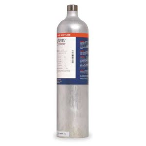 Biosystems by Honeywell 54-9049E 34L All-in-One Multi-Gas Calibration Cylinder: O2, CO, LEL, H2S