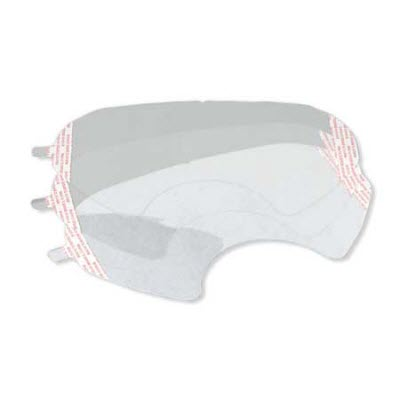 3M 6885 6000 Series Full Face Respirator Faceshield Covers: Box of 25 Protective Covers