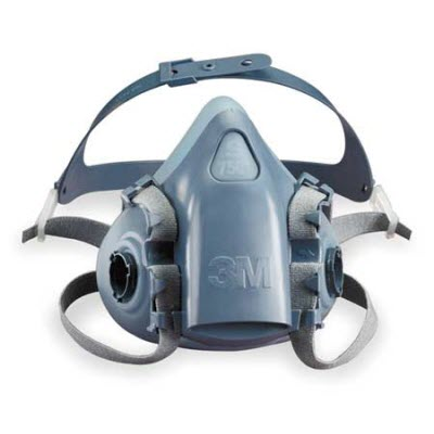 3M 7500 Series 7501 Ultimate Reusable Small Half Mask Respirator