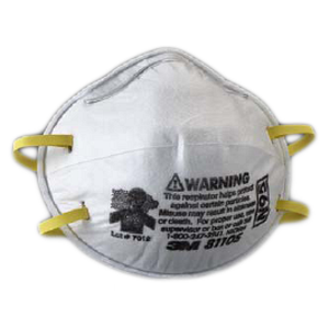 3M 8110S P2 N95 Small Disposable Particulate Respirators: Box of 20 Respirator Masks