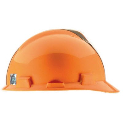 MSA 818391 NFL V-Gard Cleveland Browns 1-Touch 4-Point Suspension Cap Style  Hardhat  818391  2bdd690be