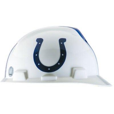 2db929fa Hard Hats - - MSA 818396 NFL V-Gard Indianapolis Colts 1-Touch 4 ...