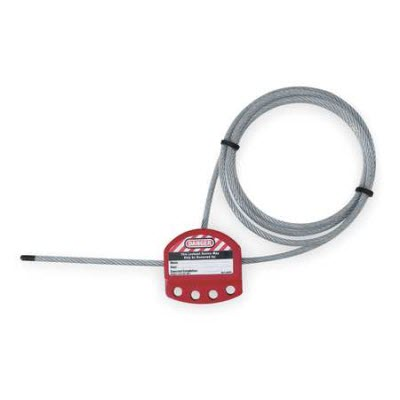 Master Lock S806CBL3 3' Adjustable Lockout Cable