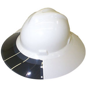 Head Protection Accessories - - PAULSON A-S4-M Smoke White Sun ... 454d80557bf
