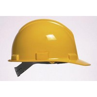 Bullard 51YLP Bullard 5100 Series Yellow Safety Cap With Self-Sizing 4-Point Suspension And Microporite Brow Pad (20 Per Case)