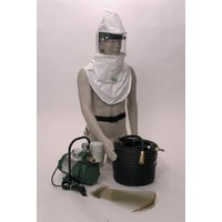 Bullard CC20SYS Bullard CC20 Airline Respirator System Includes CC20TIC35 Respirator Assembly, EDP10 Pump And V20100ST Air Suppl