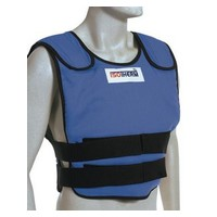 Bullard ISO2XL Bullard X-Large Blue Isotherm II Cooling Vest With Hook & Loop Closure