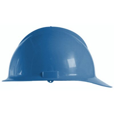 Bullard C30KBR Classic Series Kentucky Blue HDPE Flex-Gear 6 Point Ratcheting Suspension Cap Style Hardhat