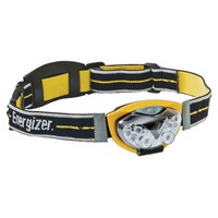 Energizer HDL33AINE Energizer Yellow LED Headbeam Flashlight (Includes 3 AAA Batteries)