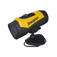 Energizer INCAP11EH Energizer Yellow And Black Industrial 360 LED Flashlight With Swivel Cap Mount (1 AA Battery Included)