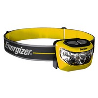 Energizer INHD5L32H Energizer Yellow And Black Industrial Brilliant Beam LED Flashlight With Headband Mounting Strap (3 AAA Batt