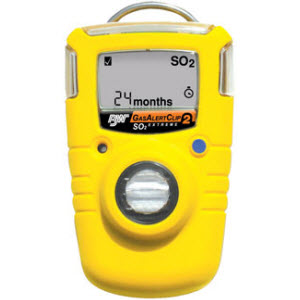 BW Technologies BWC2-S BW Clip 2 Year Sulfur Dioxide (SO2) Single-Gas Detector