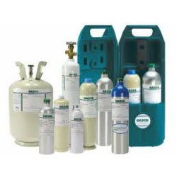 GASCO 58L-403E (58L) Calibration Gas Cylinder Identical to: Biosystems 54-9044E (58) L Calibration Gas Cylinder
