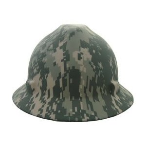 e0aac93bfc3 Specialty Hard Hats - - MSA 10104254 Digital Camo Full Brim Hard Hat