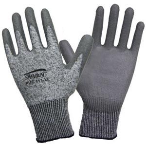 aa8b67b93e9 Global Glove PUG417 Samurai Black PU Coated Tuffalene HDPE Gloves