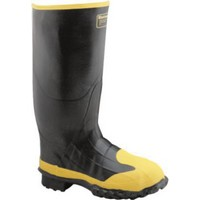 Bata Shoe 89682-8 Onguard Industries Size 8 Goliath Black Polyblend Chemical Resistant Knee Boots With Power-Lug Outsole Steel Toe And Removable Insole