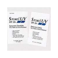 Stockhausen 29008 STOKO UV SPF 30 Sunscreen Lotion Packets In Wall Mounted Dispenser Box (50 Per Case)