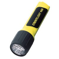 Streamlight Inc 68202 Streamlight Yellow ProPolymer 4AA LED Flashlight (4 AA Batteries Included) (Blister Packaged)