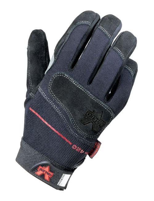 IRONCLAD WWI2-05-XL Anti-Vibration Gloves,Full,XL,PR