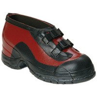 Honeywell 51509-13 Salisbury Size 13 Red And Black Rubber Overshoes With Anti-Skid Bar Tread Outsole